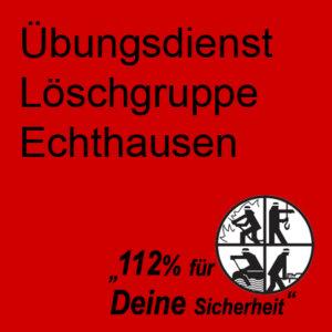 Übungsdienst Löschgruppe Echthausen