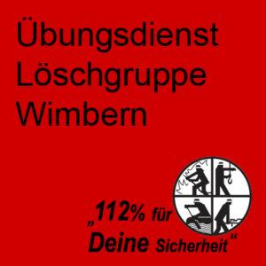 Übungsdienst Löschgruppe Wimbern